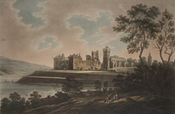 The South West View of the Palace of Linlithgow